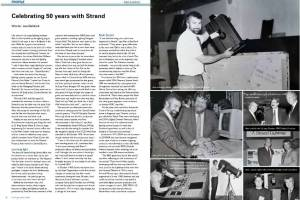 Alan Luxford's 50th Anniversary at Strand Lighting: Client – Philips Entertainment