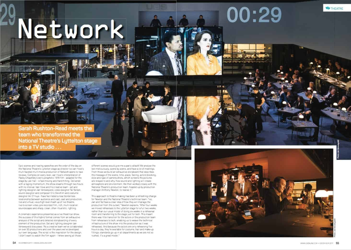 Network – The National Theatre: Client LSi