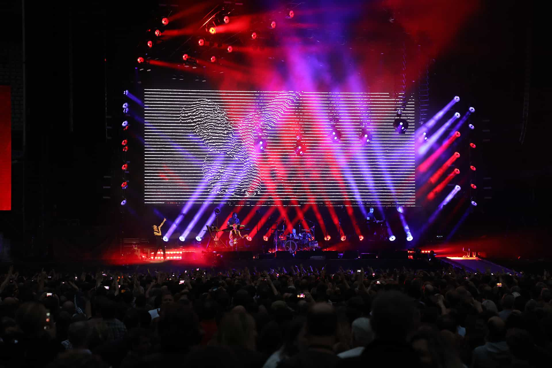 Depeche Mode at Stade de France: Client – Philips Entertainment