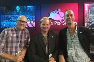 Wholehog 25th Anniversary at PLASA 2017: Client – Flying Pig System founders