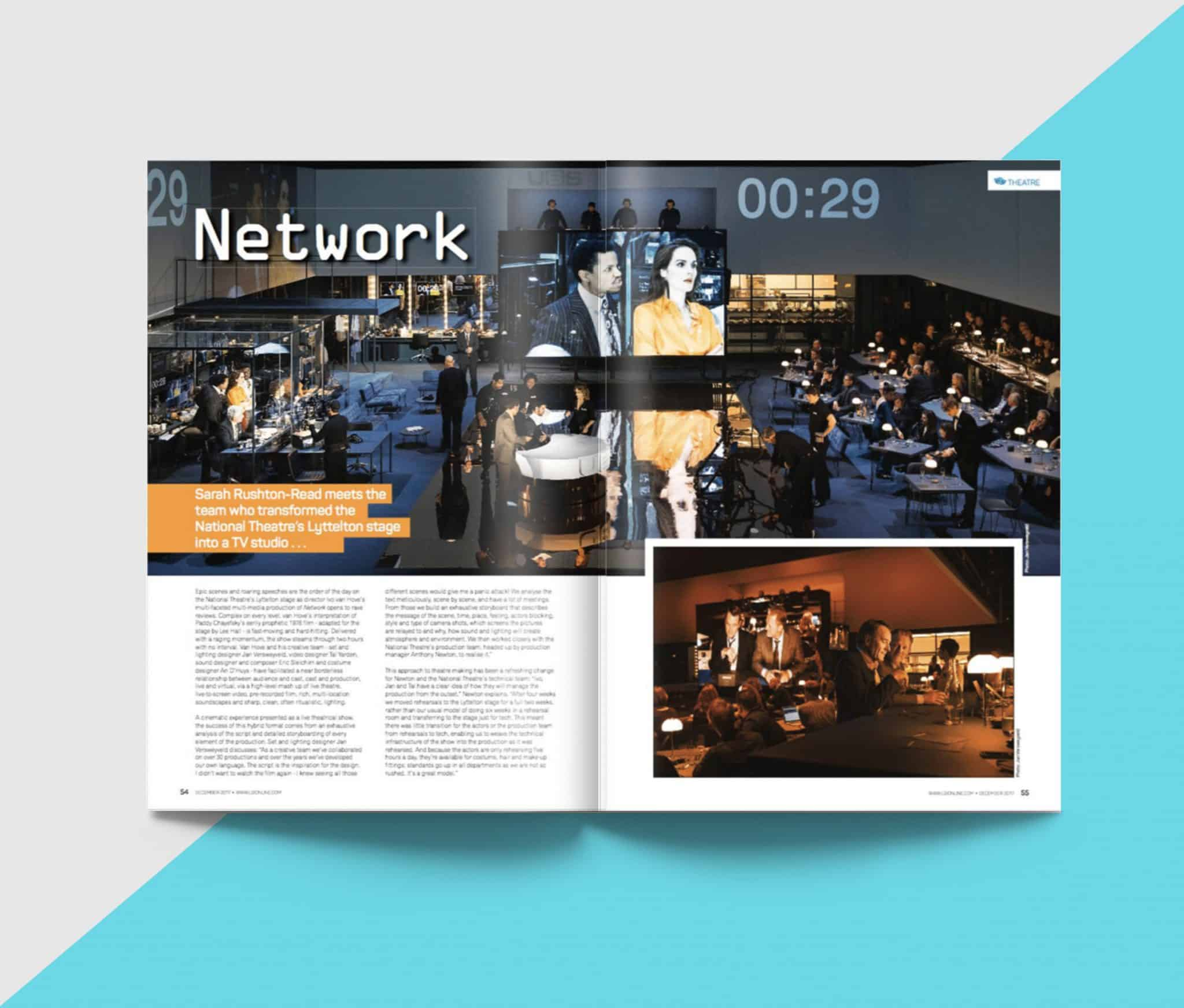 Network – The National Theatre: Client – LSi