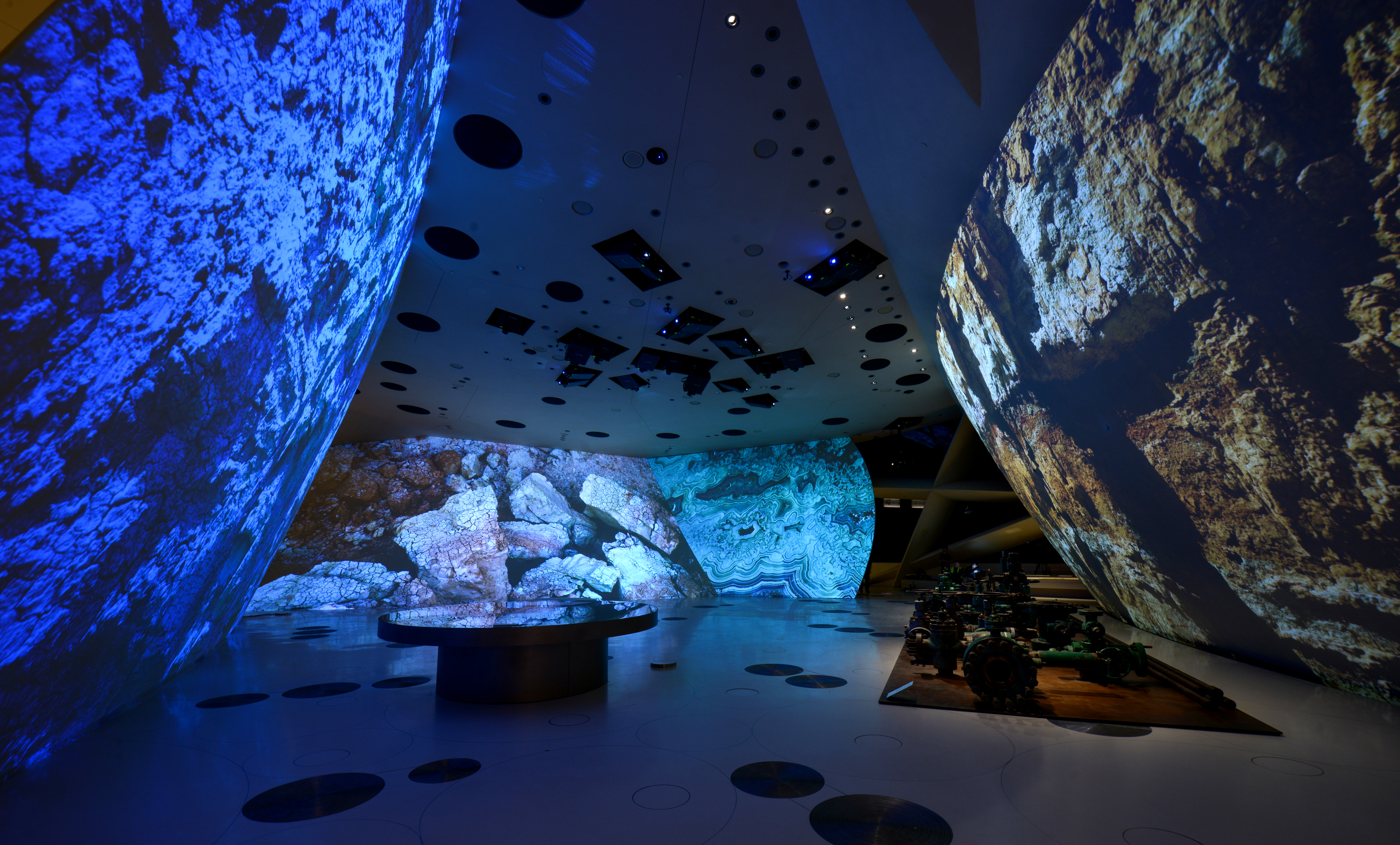 National Museum of Qatar Video Installation: Client – RES