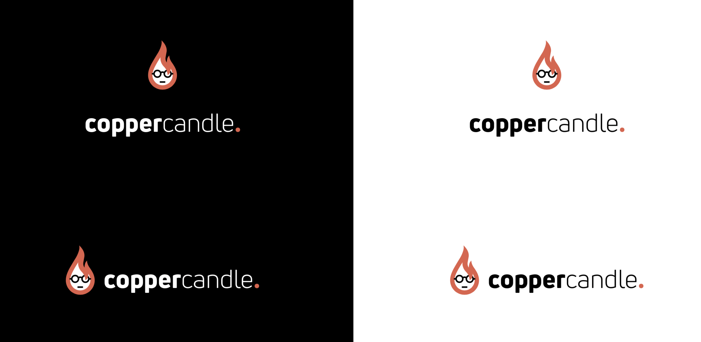 Branding for a high-tech startup: Client – Copper Candle